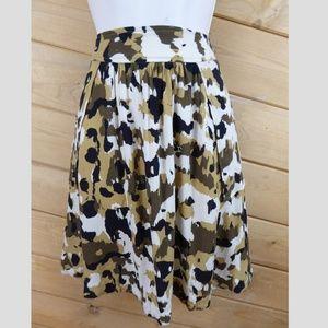 French Connection Animal Camo Mini Skirt 4